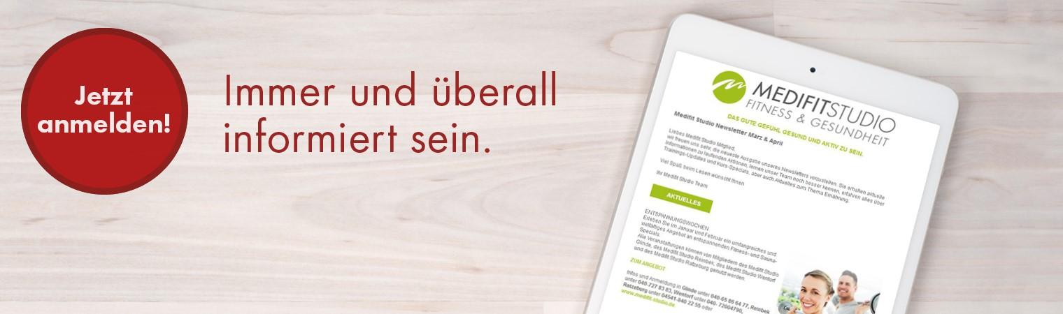newsletter anmeldung in wentorf hamburg medifit fitnessstudio wentorf. Black Bedroom Furniture Sets. Home Design Ideas